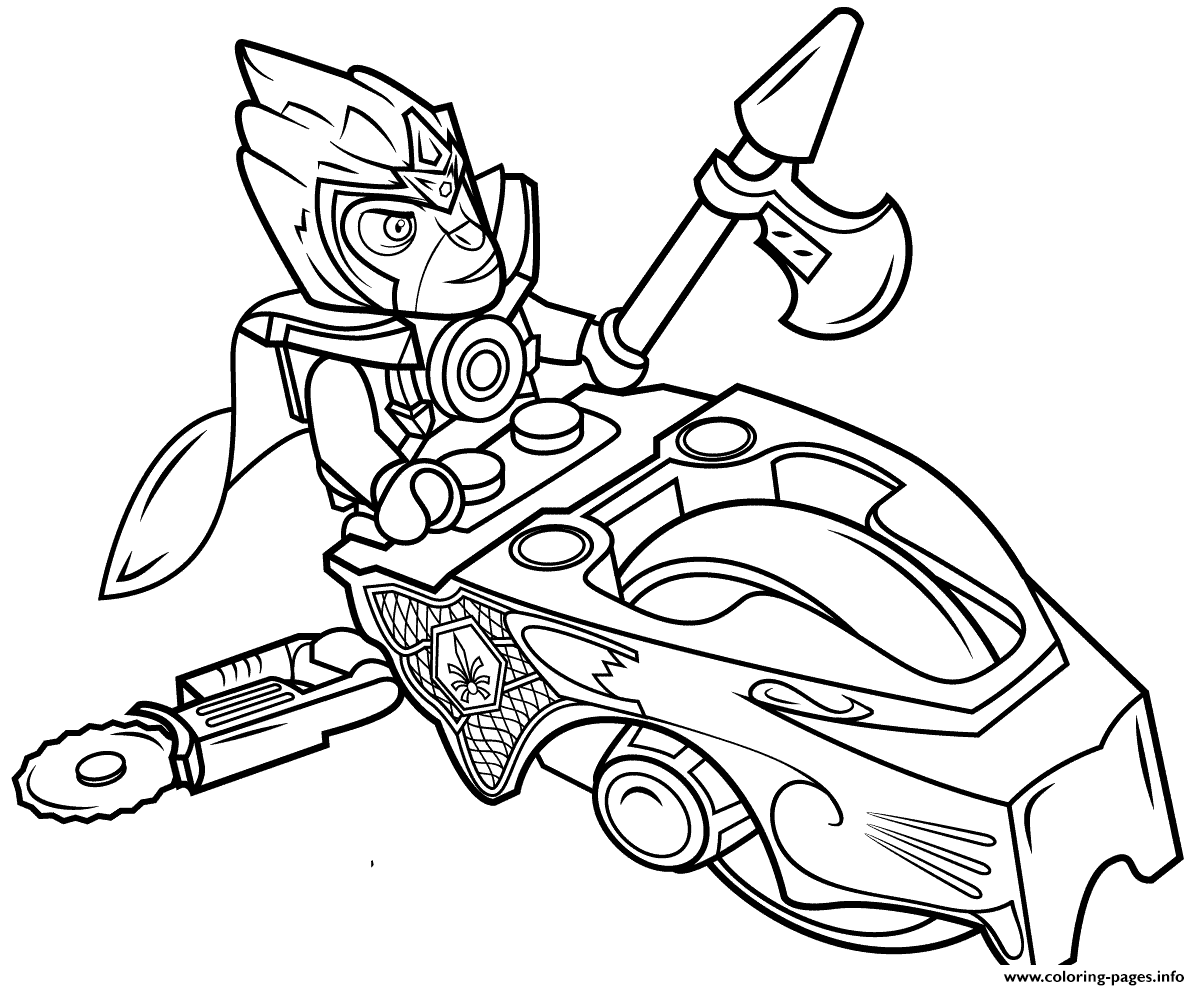 Lego Chima Speedorz Coloring Pages Printable