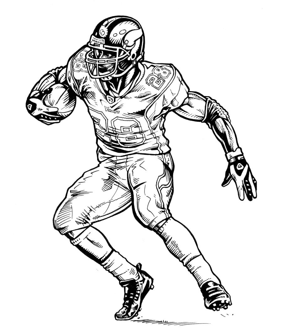 12 Pics Of Minnesota Vikings Coloring Pages To Print