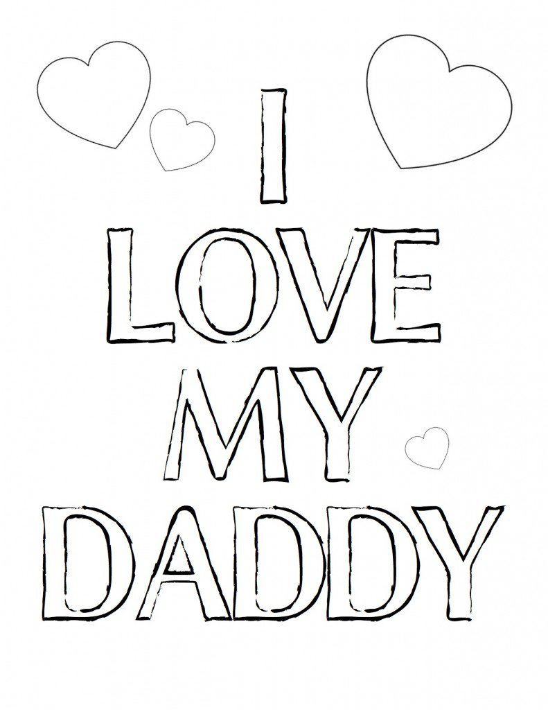 Www  Fathers Day Coloring Pages