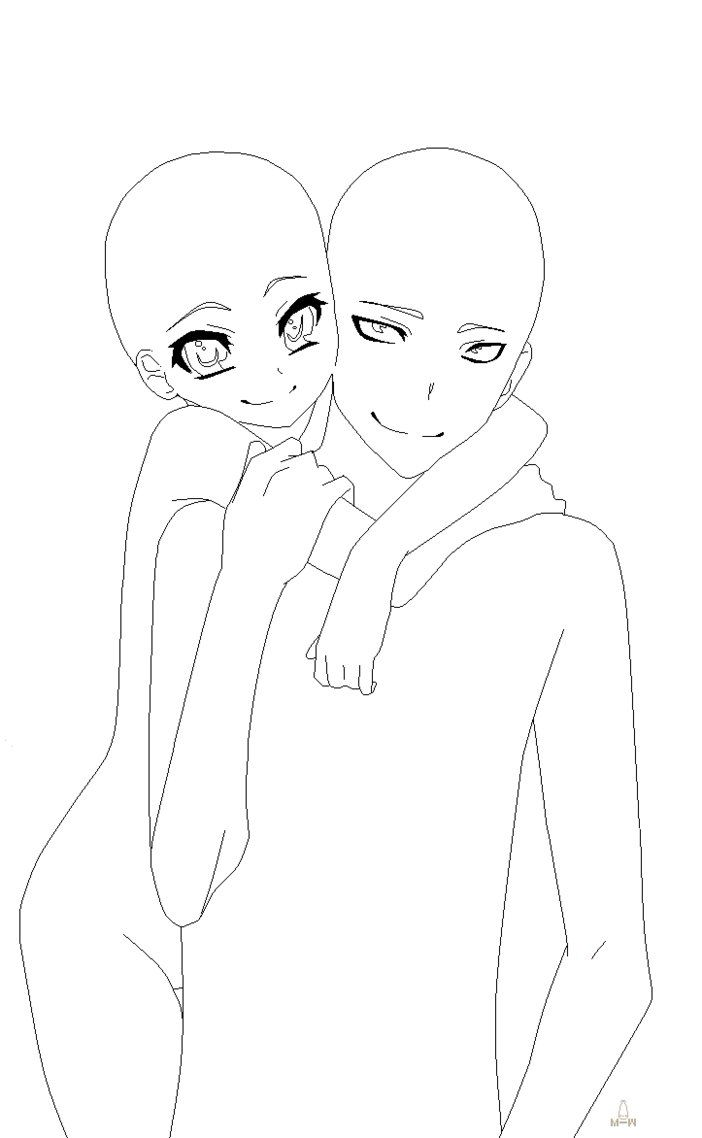 Best 25+ Anime Couples Drawings Ideas On Neo Coloring