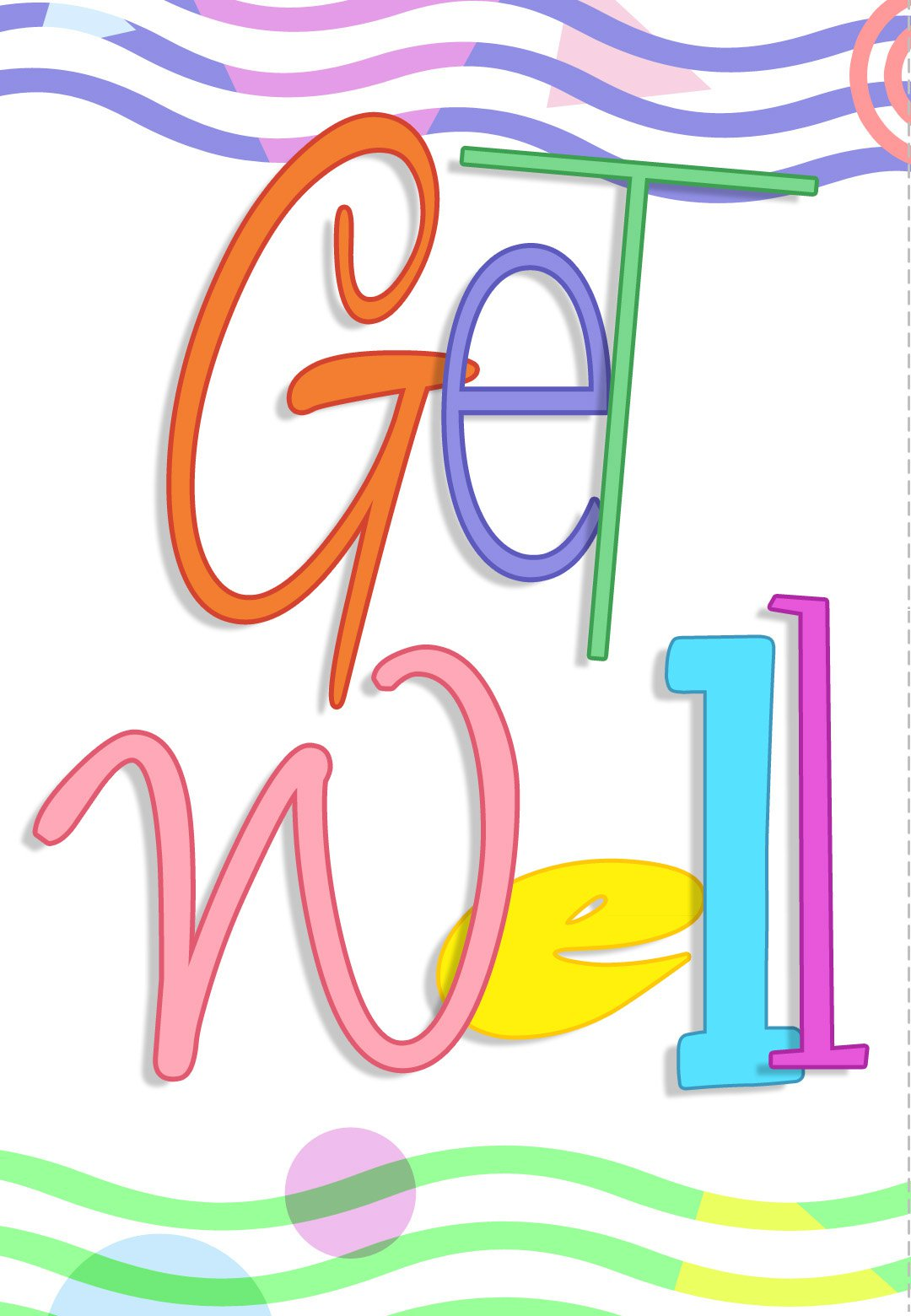 Free Printable Get Well Greeting Card