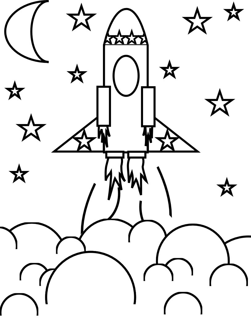 We Kick Off He Week By Flying Out Of Space  ) Little Rocket Ship
