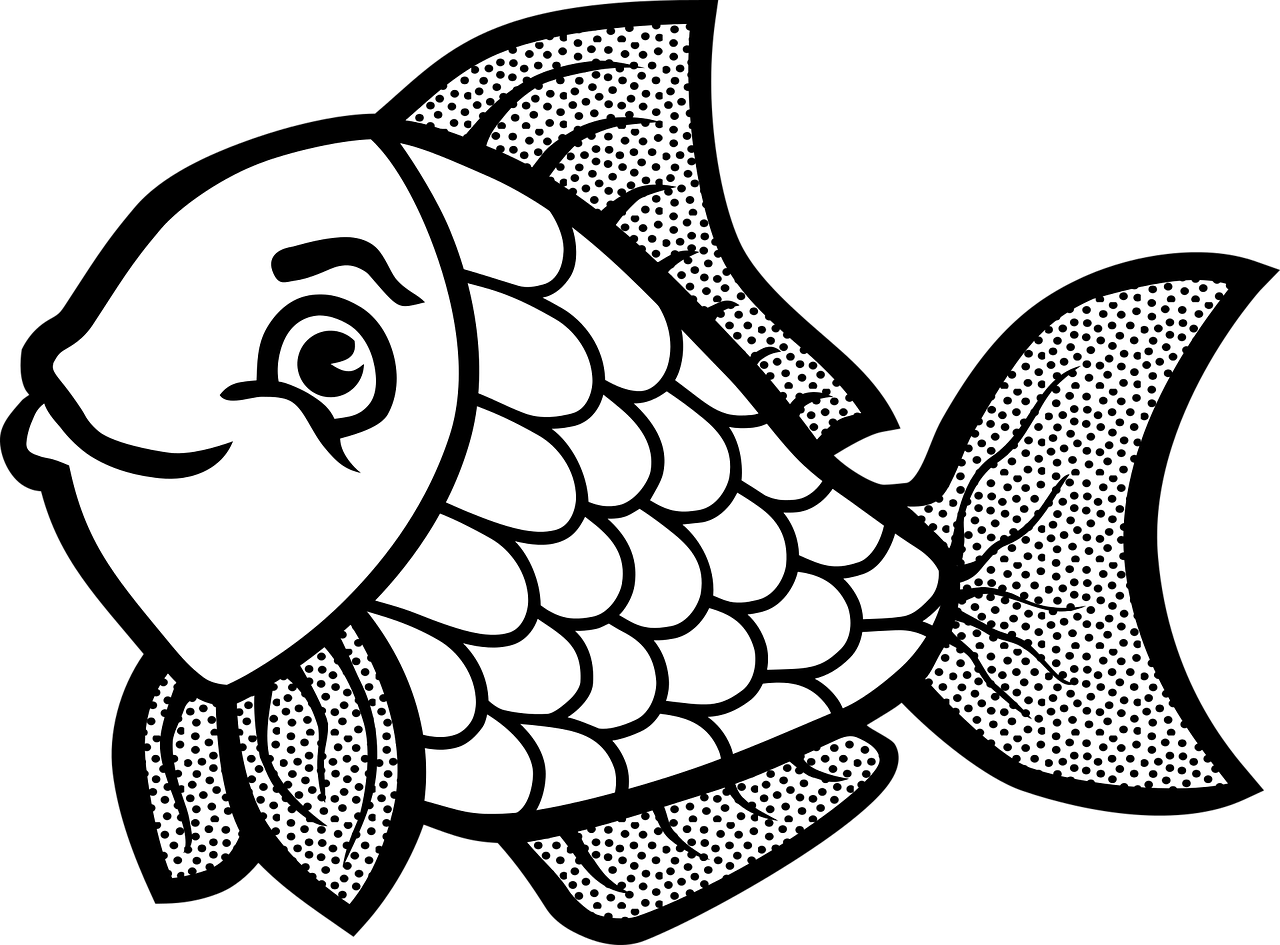 Fish Coloring Pages'
