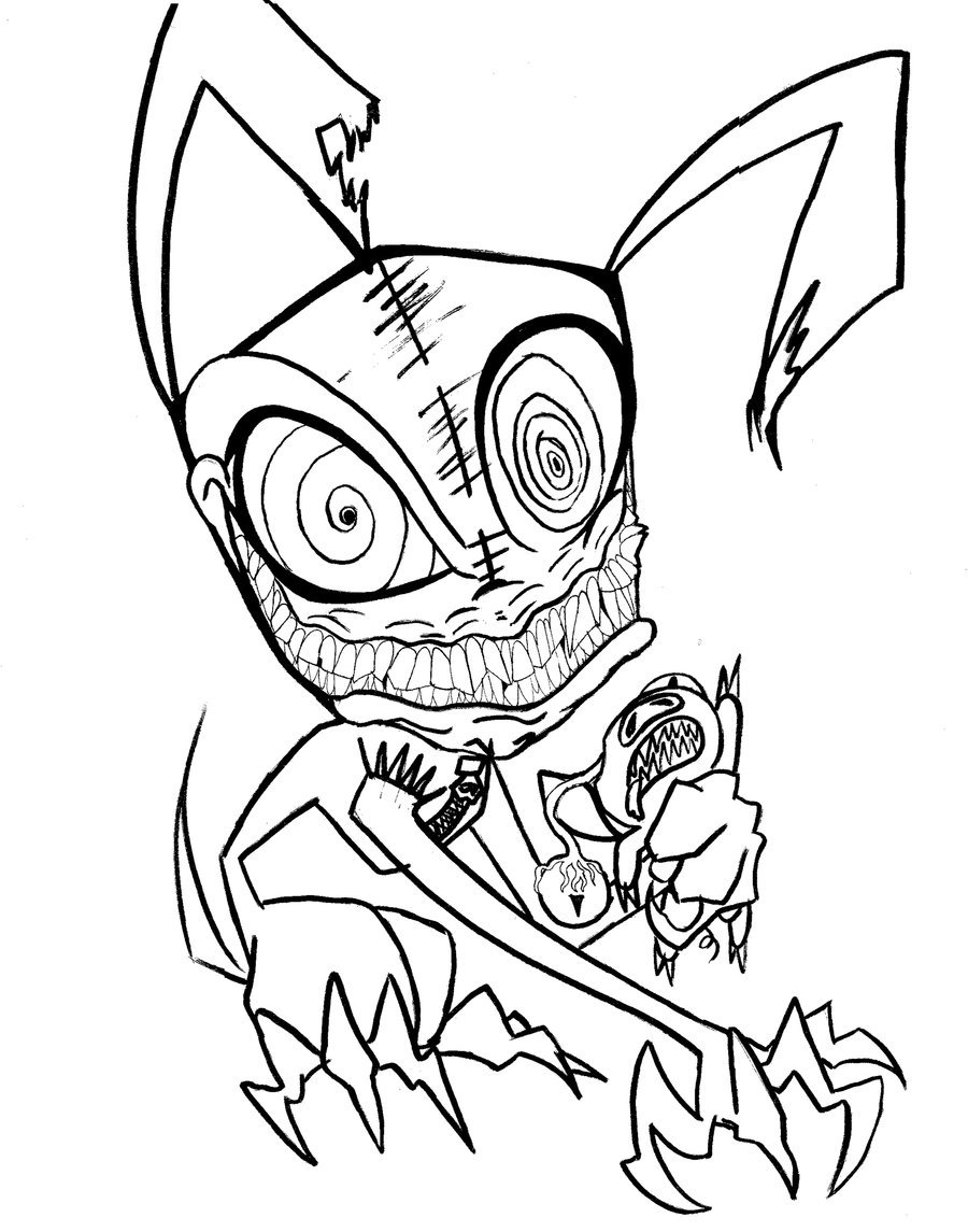 Adult Scary Halloween Coloring Pages Printables In Scary Coloring