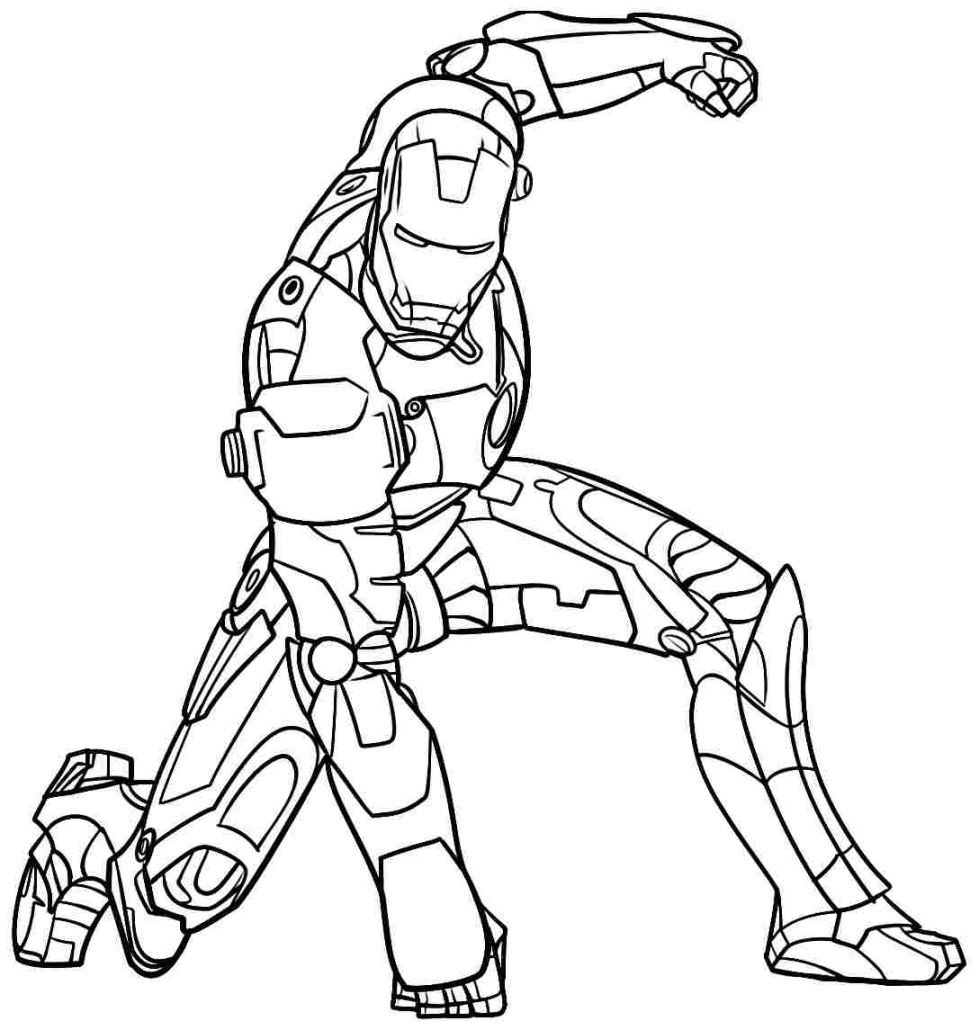 Amazing Ironman Coloring Pages 15 On Free Coloring Kids With