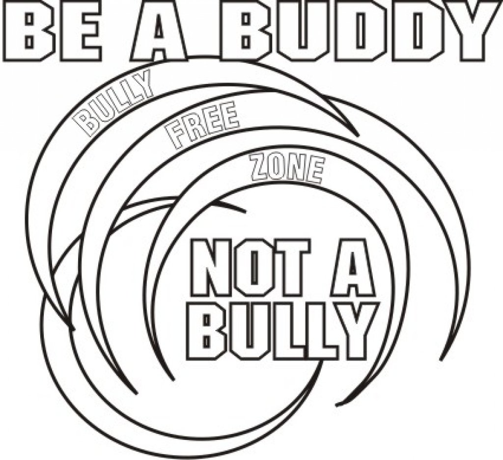Anti Bullying Coloring Pages Intended For Your Home At