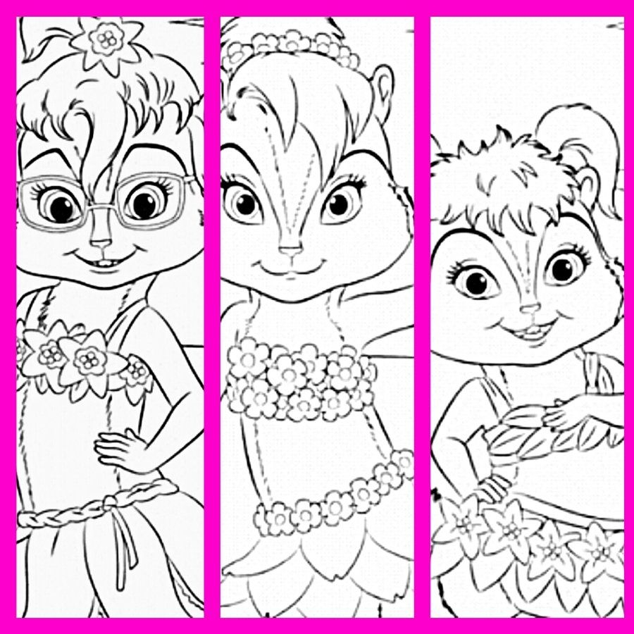 Dazzling Alvin And The Chipmunks Coloring Pages Alvin And The