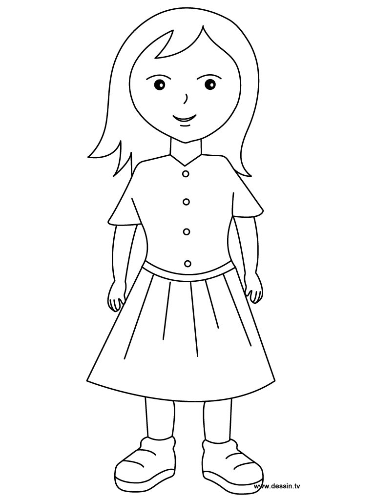 Awesome Girl Coloring Pages Gallery Coloring P  4562