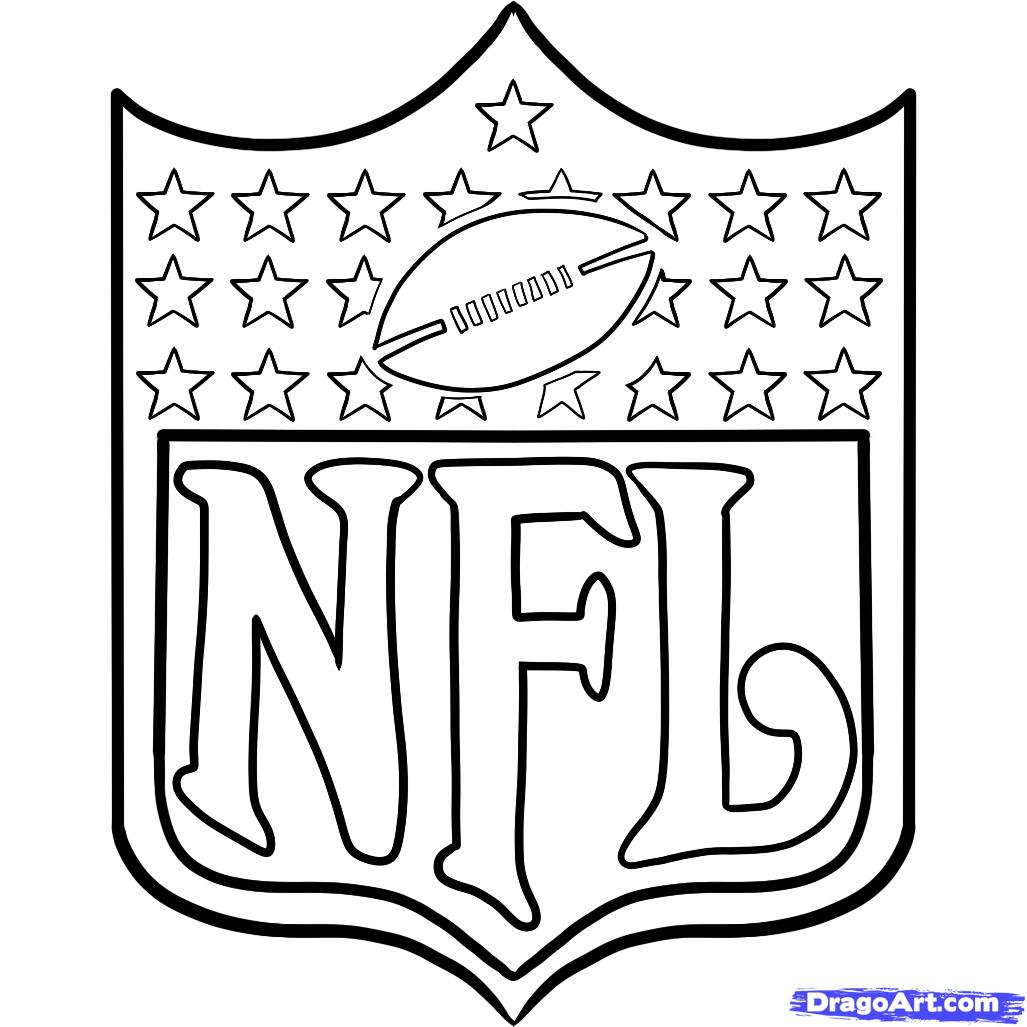 Awesome Nfl Coloring Pages 71 About Remodel Coloring Site With Nfl