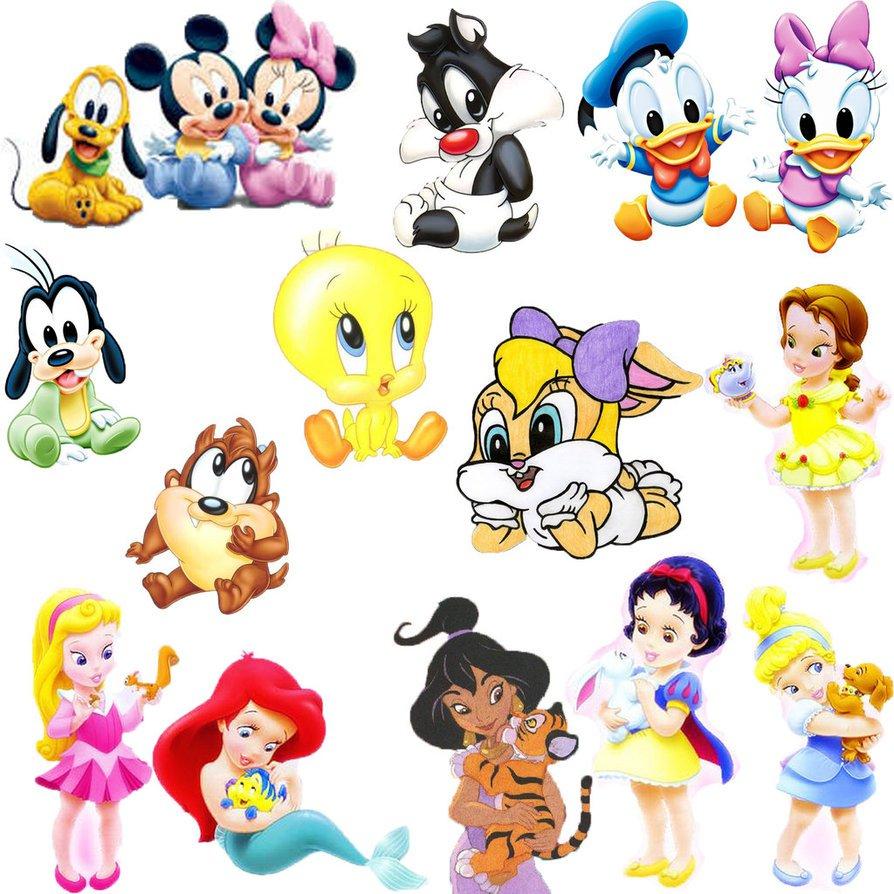 Baby Disney Characters By Pinkrose25 On Deviantart