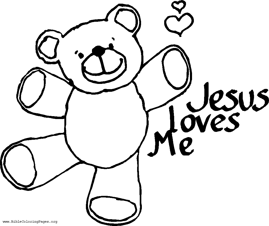 Beautiful Jesus Loves Me Coloring Pages Printables With Jesus