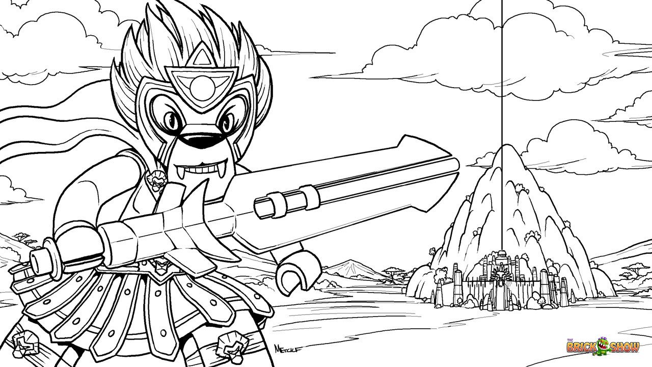 Beautiful Lego Chima Coloring Pages 43 With Additional Seasonal