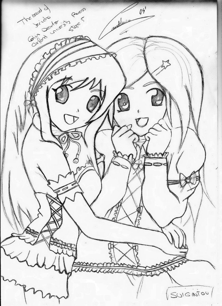 Best Friend Coloring Pages For Teenage Girls Free