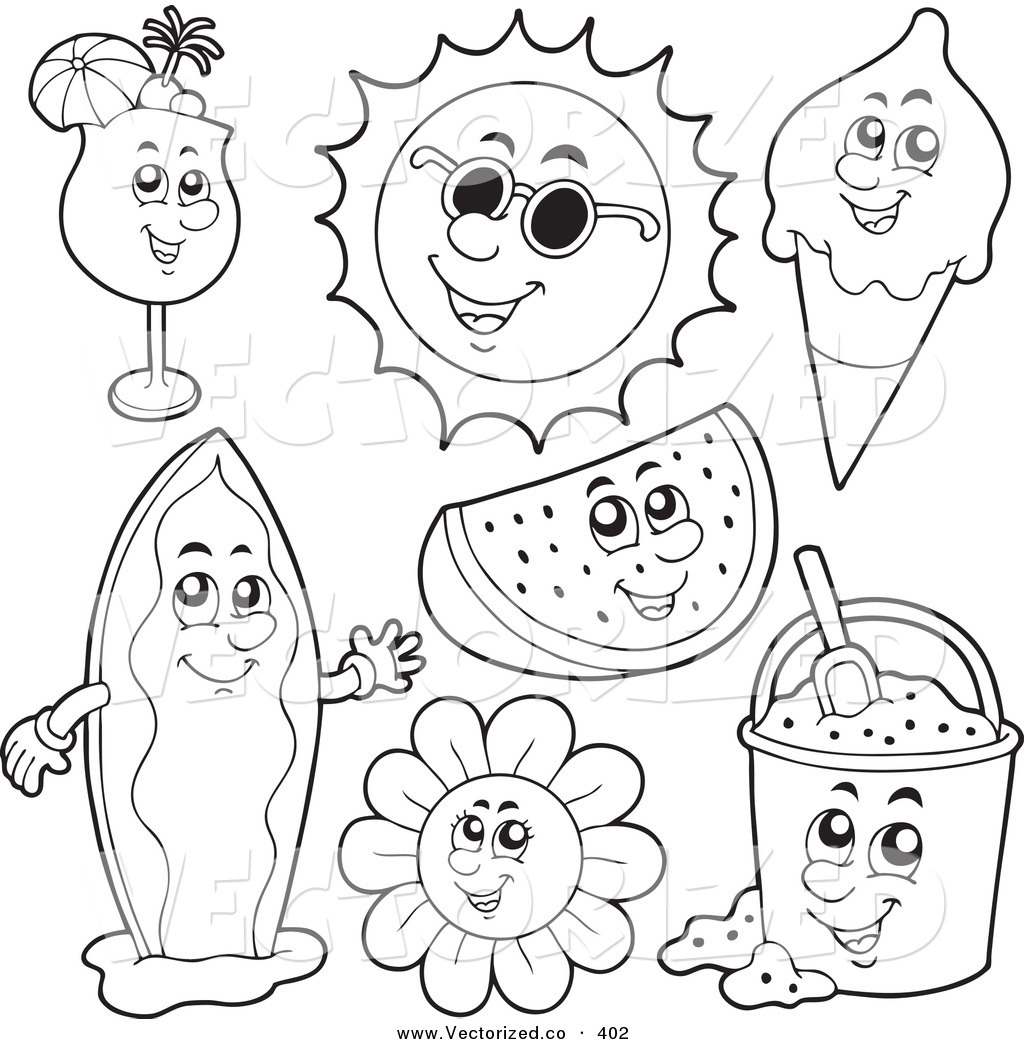 Best Summer Coloring Pages 62 About Remodel Coloring Pages For