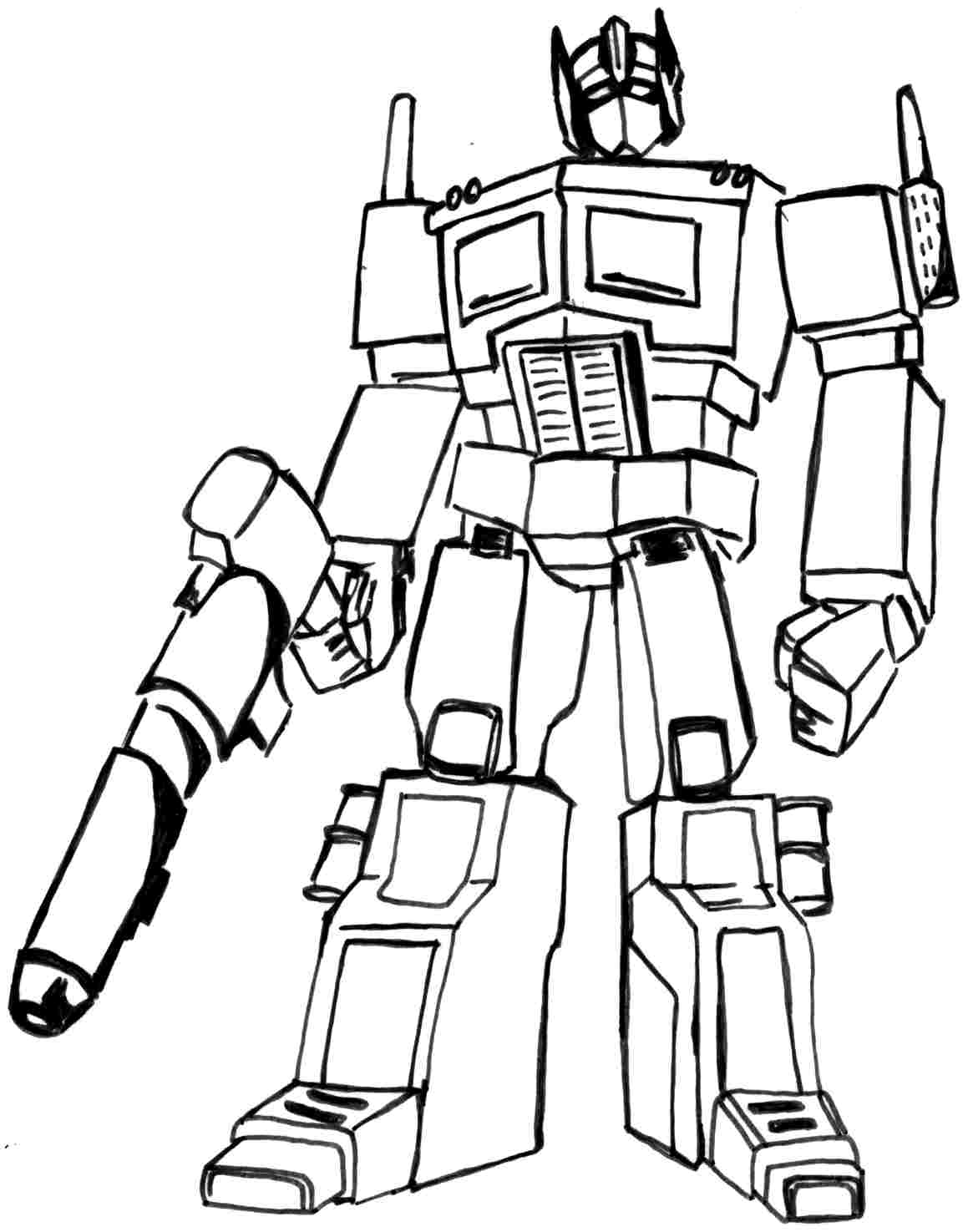 Best Transformers Coloring Pages 99 For Coloring For Kids With