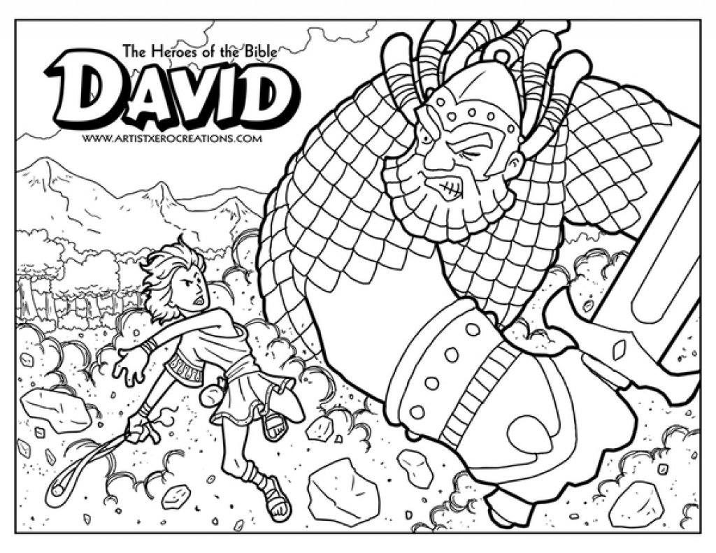 Bible Story Coloring Pages To Encourage In Coloring Picture And