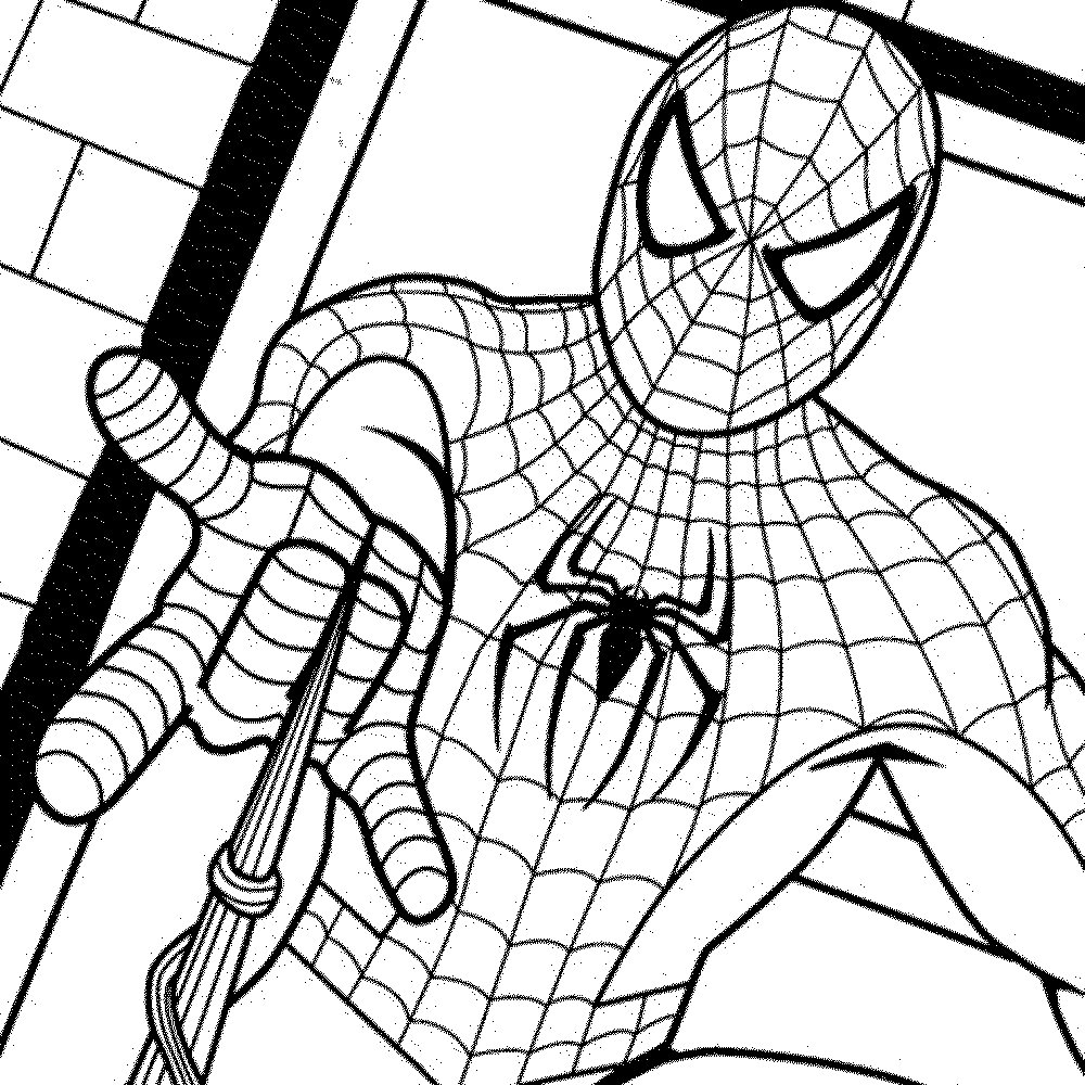 Spiderman Coloring Pages For Kids  Good Spiderman Coloring Page 95
