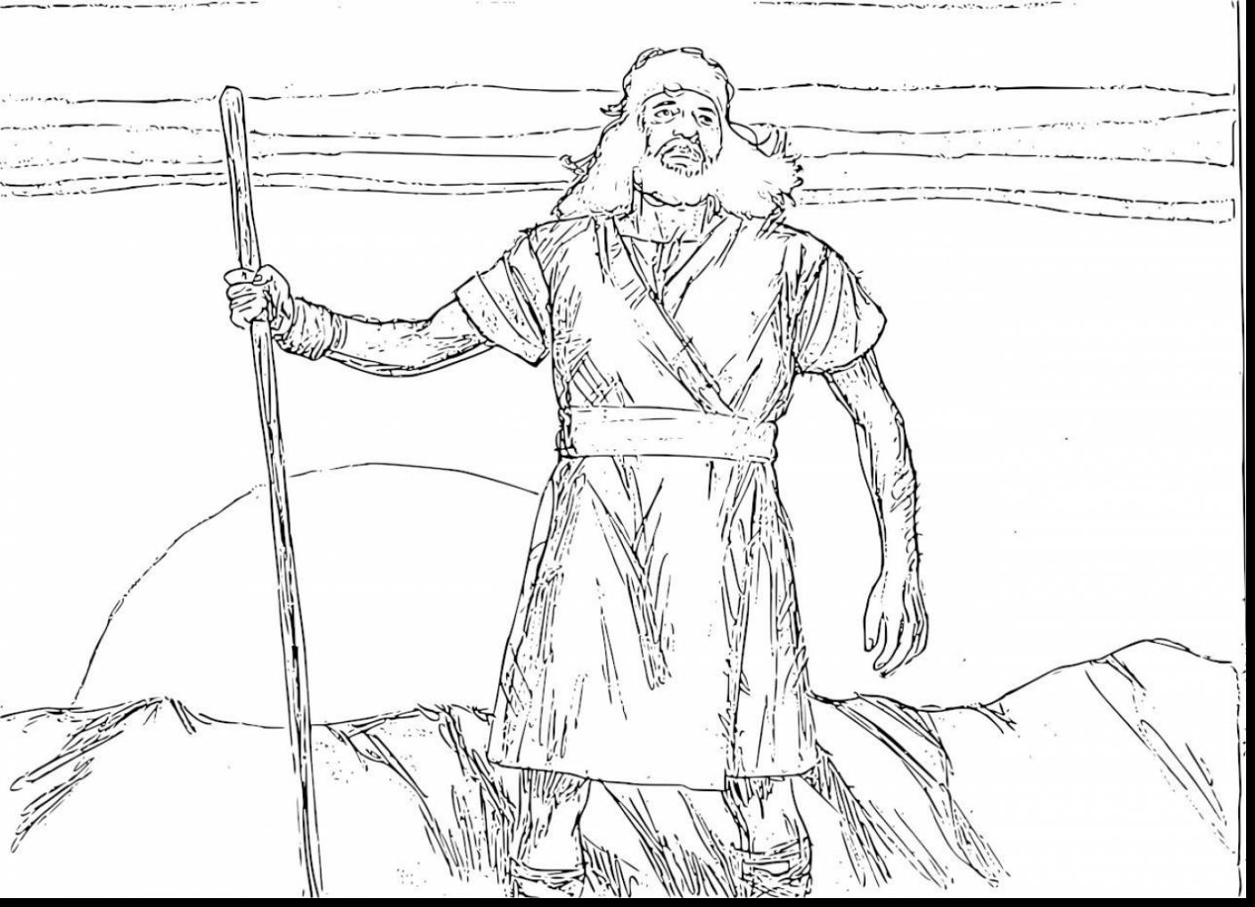 Brilliant Bible John The Baptist Coloring Page With John The