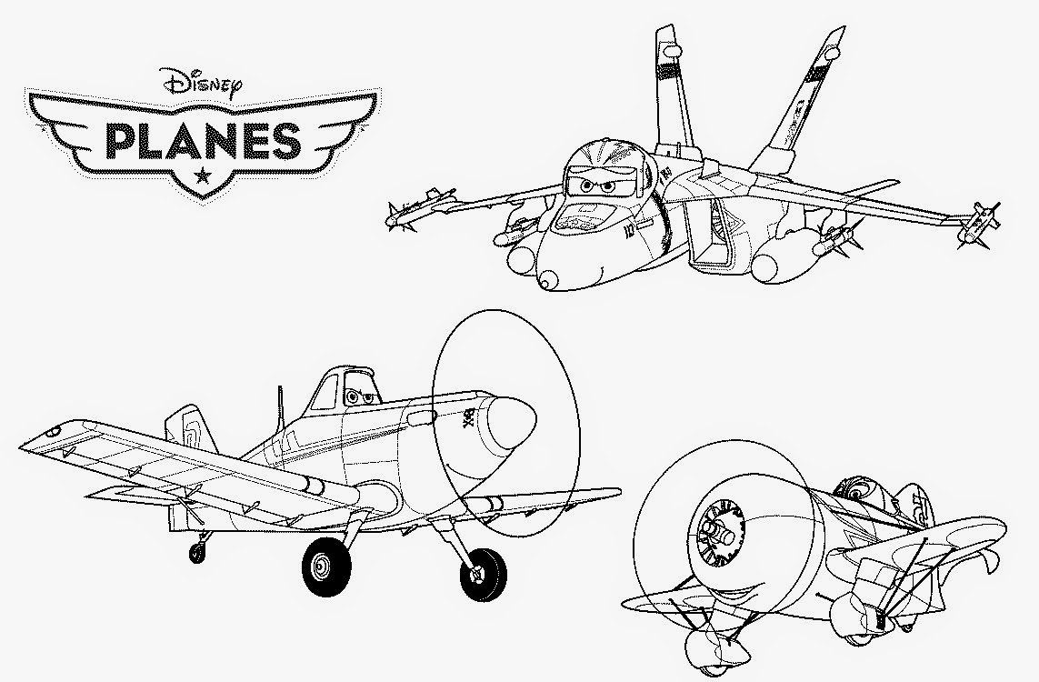 Best Free Disney Planes Cartoon Coloring Pages Printable For Kids