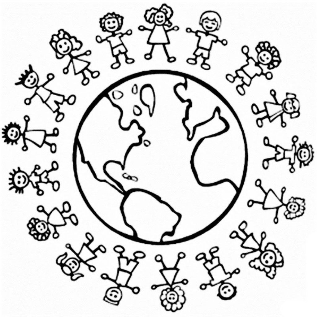 Christmas Around The World Coloring Pages Page 1 For Christmas