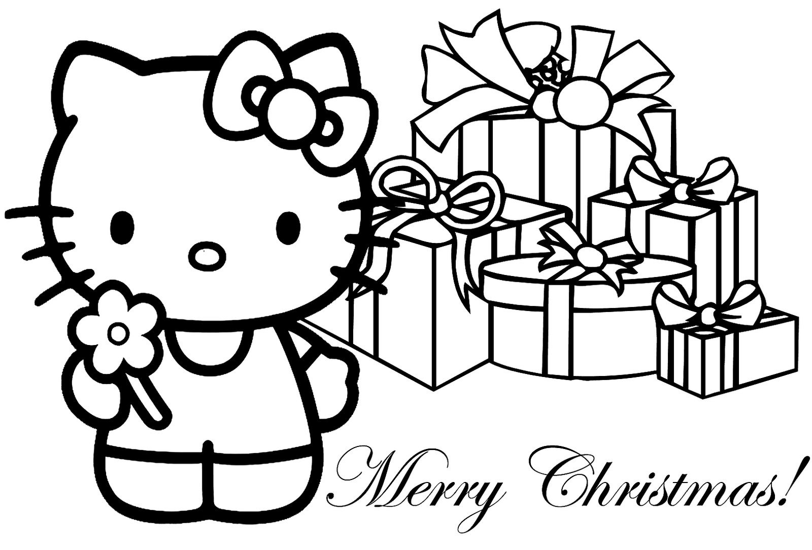 Christmas Coloring Pages Free Printable Archives For Coloring Page