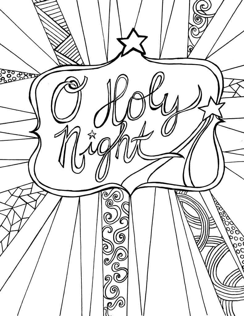 Coloring Pages To Print Free For Adults