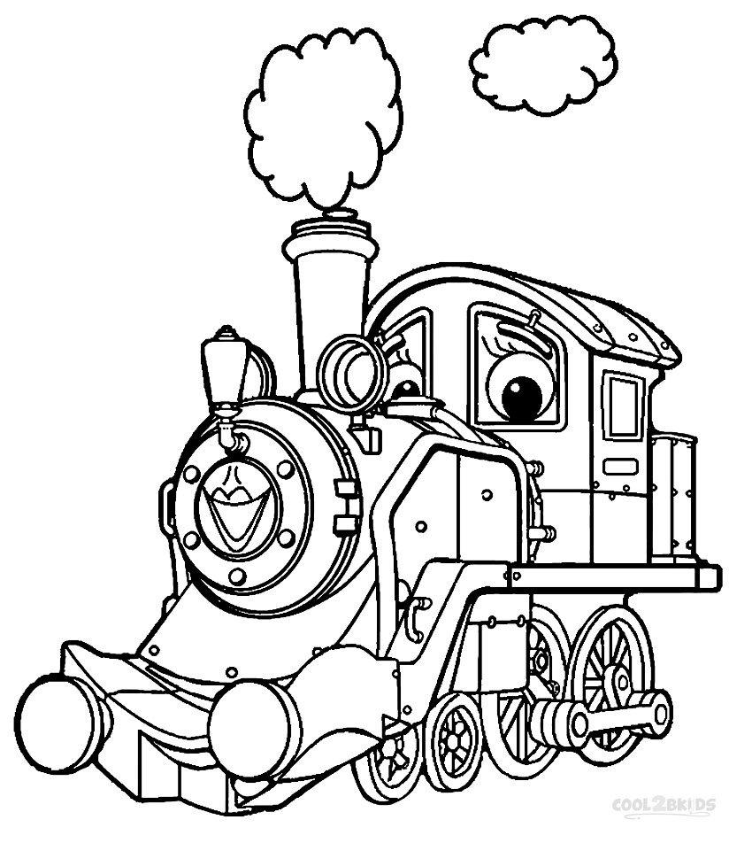 Printable Chuggington Coloring Pages For Kids