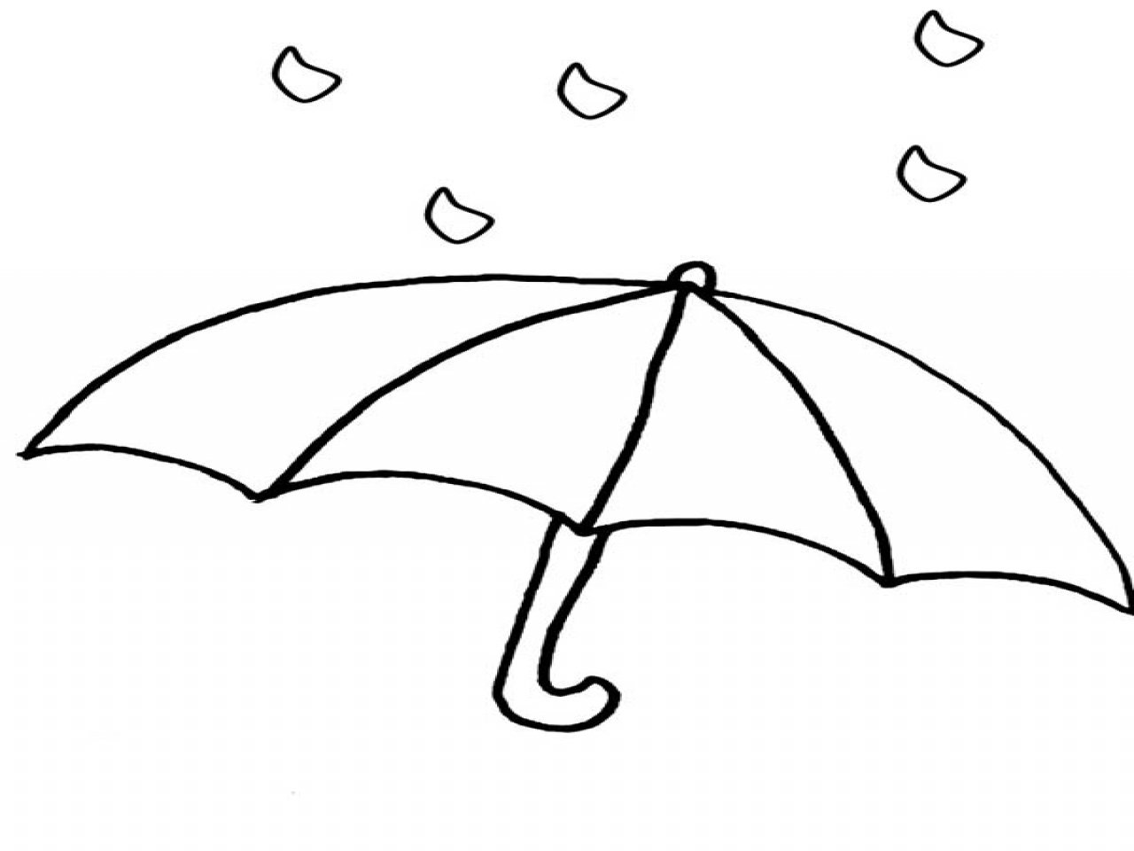 Clip Art  Raindrop Coloring Page  Breadedcat Free Printable With