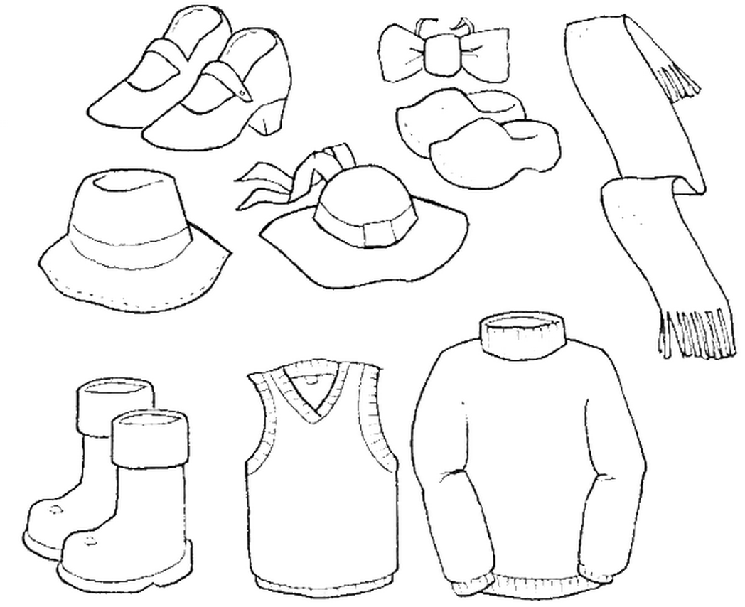 baby clotheline coloring pages - photo#11