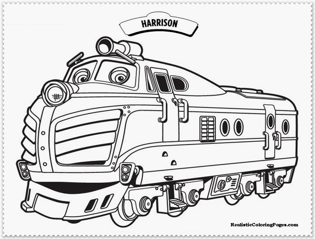 Coloring Pictures On Chuggington – Free Printables