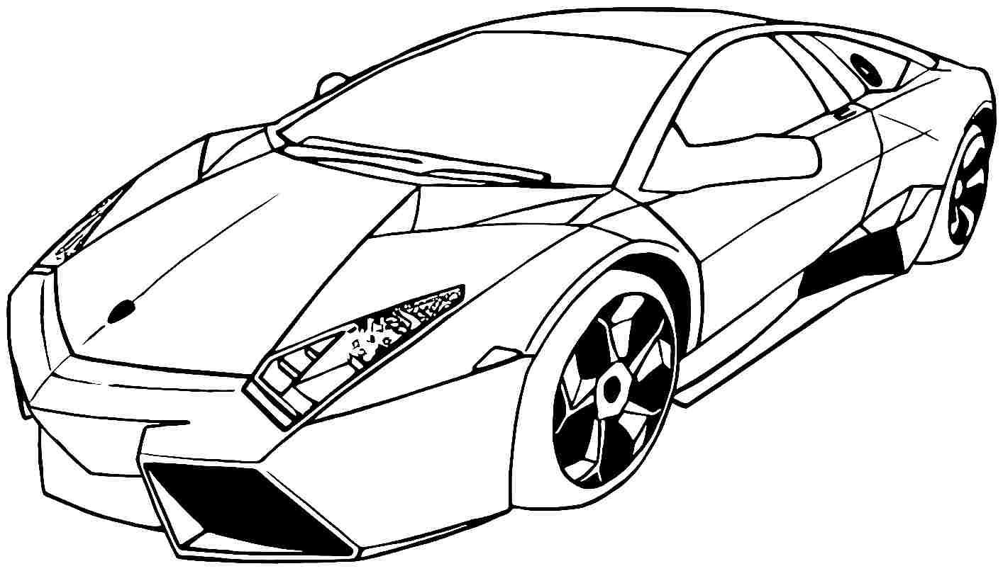 Pages For Boys Cars
