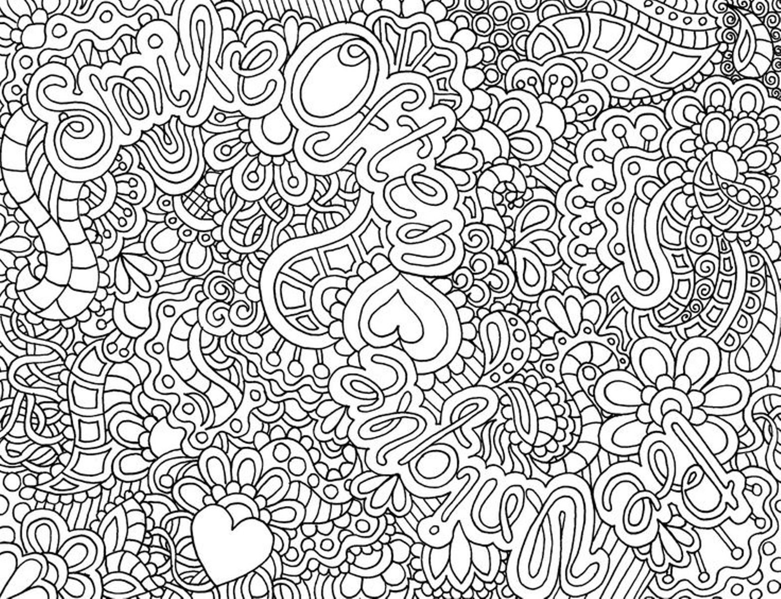 Coloring Pages For Teenagers New Printable For Teens