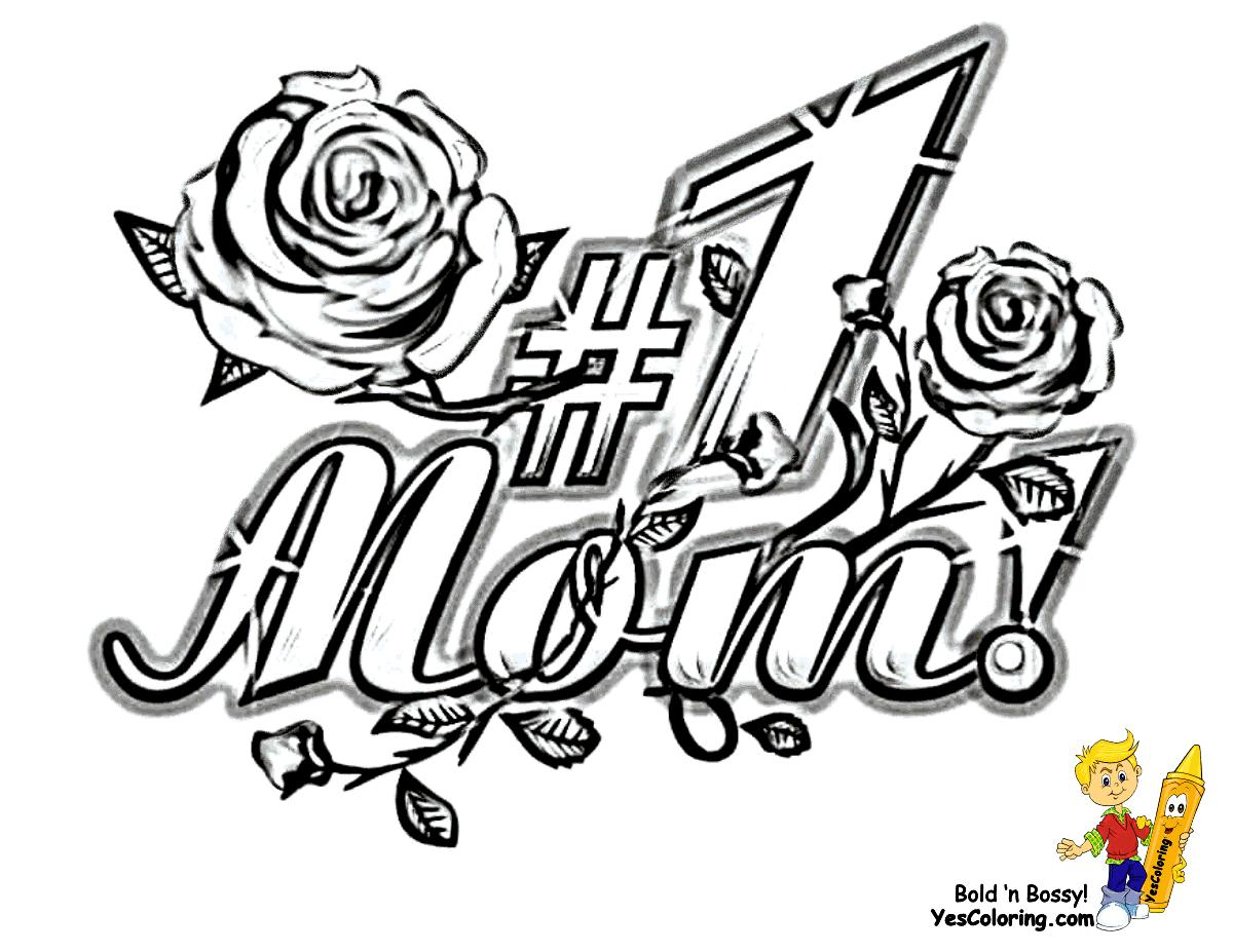 Coloring Pages Inside Mom