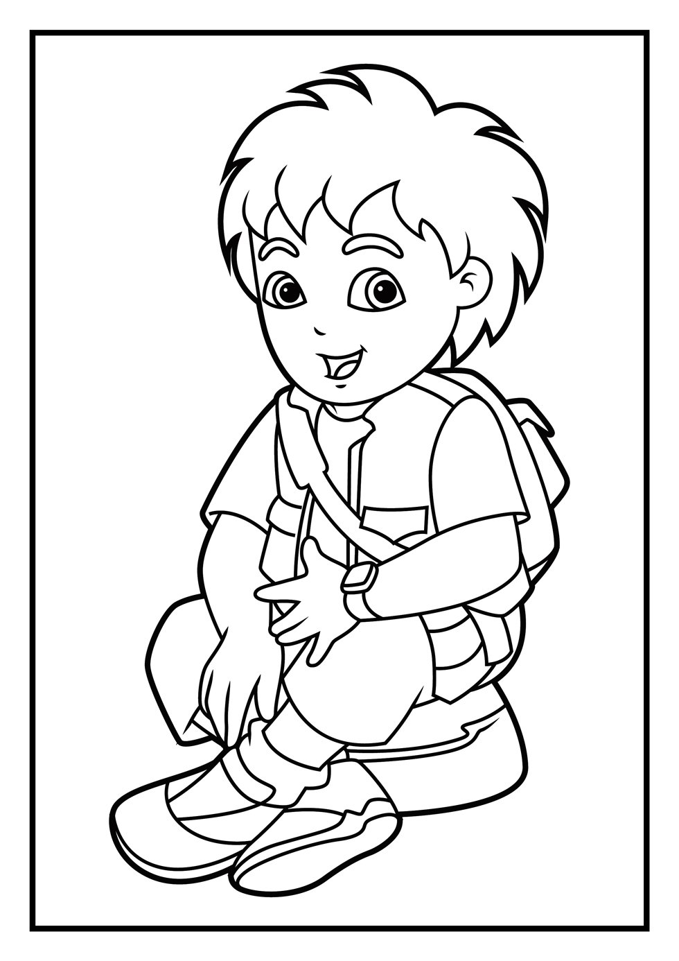 Coloring Pages Marvelous Diego Pages2 In