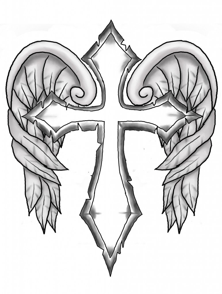 Cross Coloring Pages At Crosses