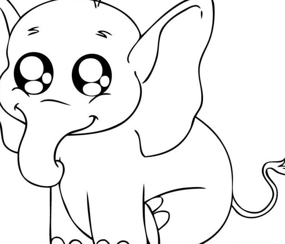 Cute Cartoon Animal Coloring Coloring Pictures Of Animals