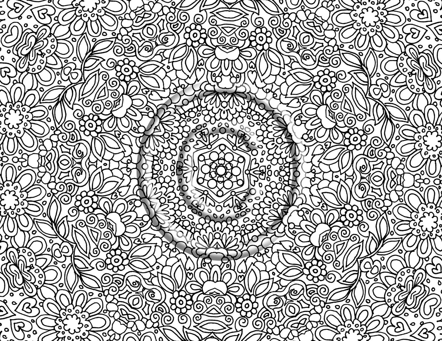 Detailed Coloring Page Picture Good Pages For Kids 7 Best Of