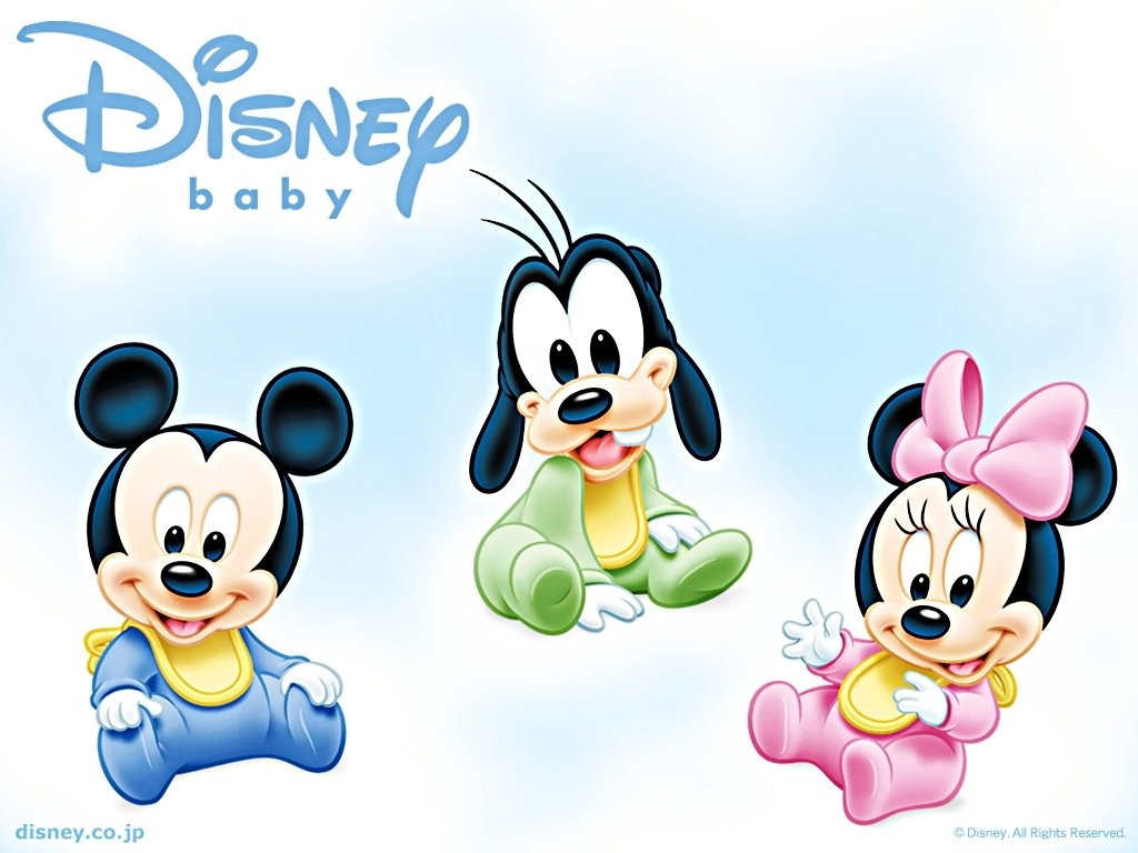 Baby Disney Cartoon Characters