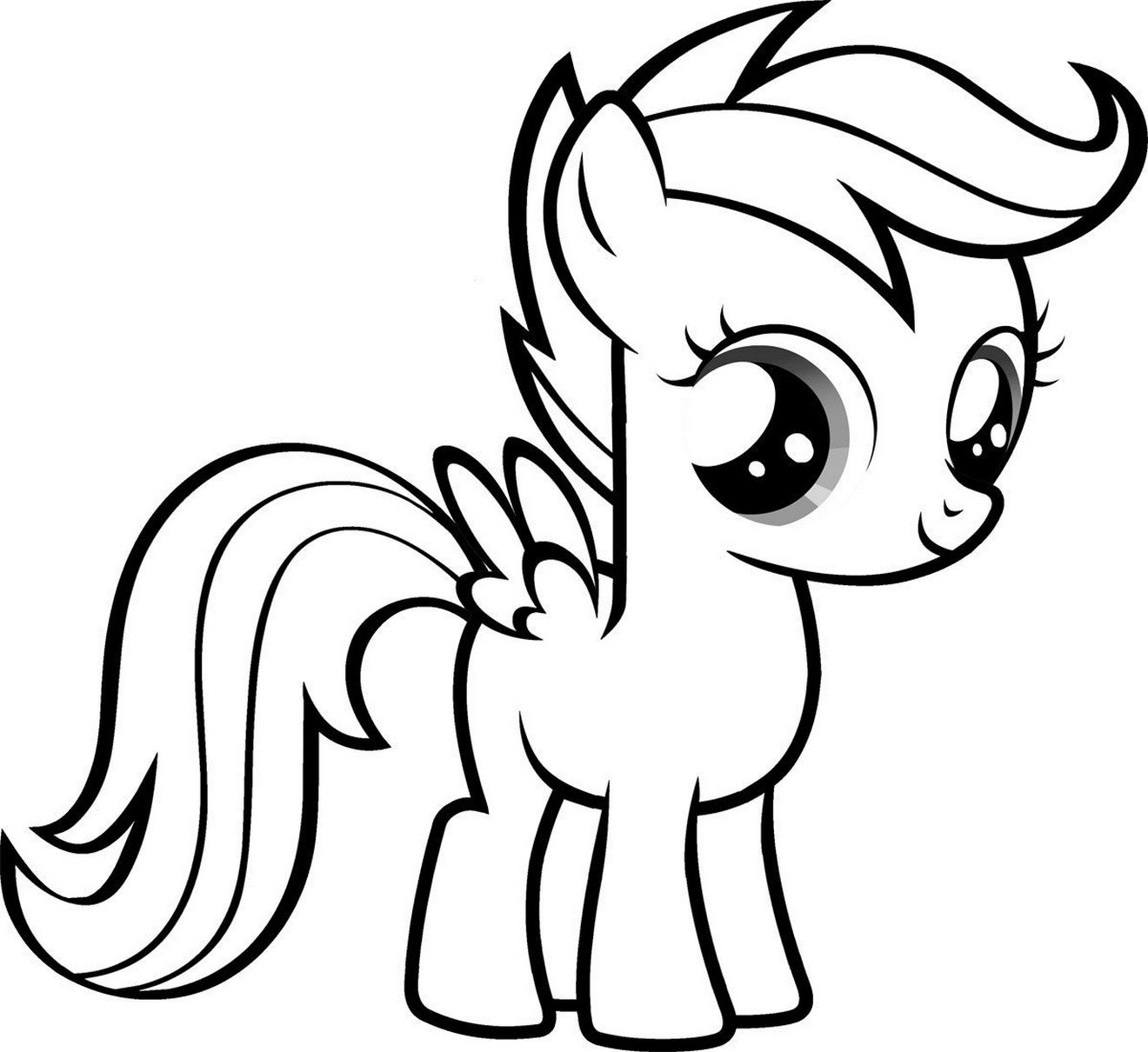 Disney Coloring Pages My Little Pony