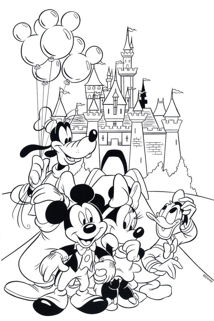 Disney World Coloring Pages To Print Archives Best Of Disney World