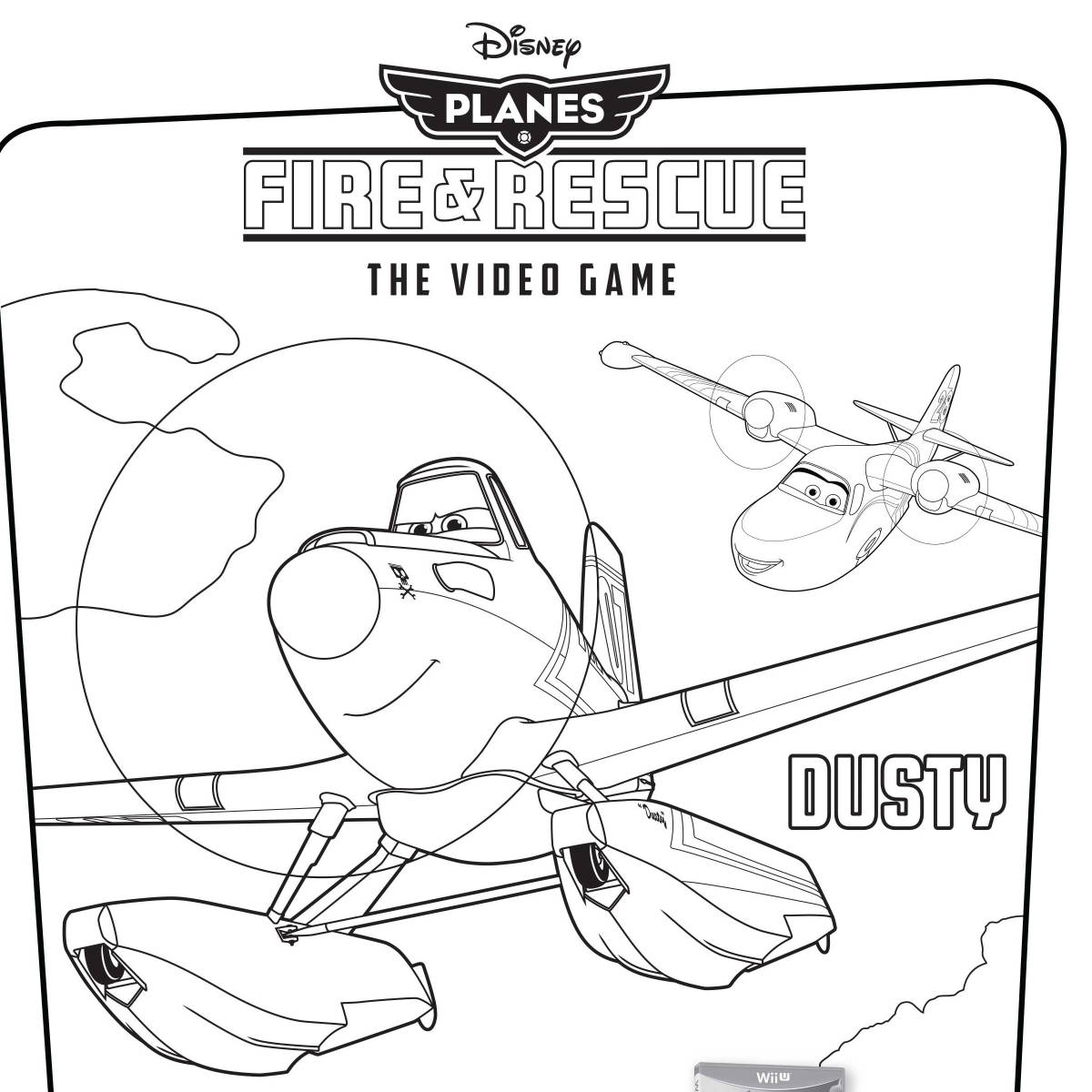Disney's Planes Fire Rescue Video Game Coloring Pages Disney 16895