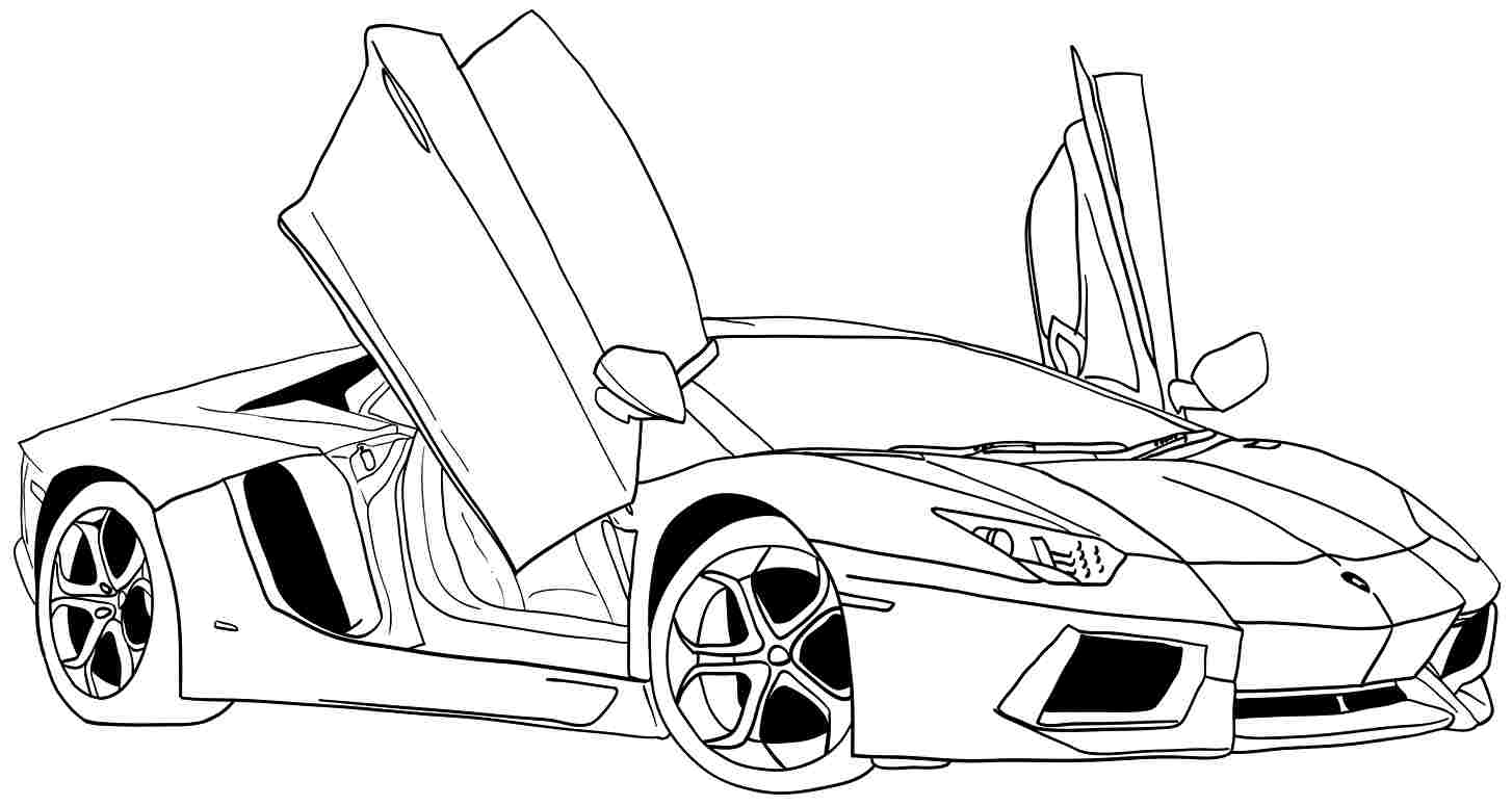 Downloads Fast Cars Coloring Pages 84 With Additional Free
