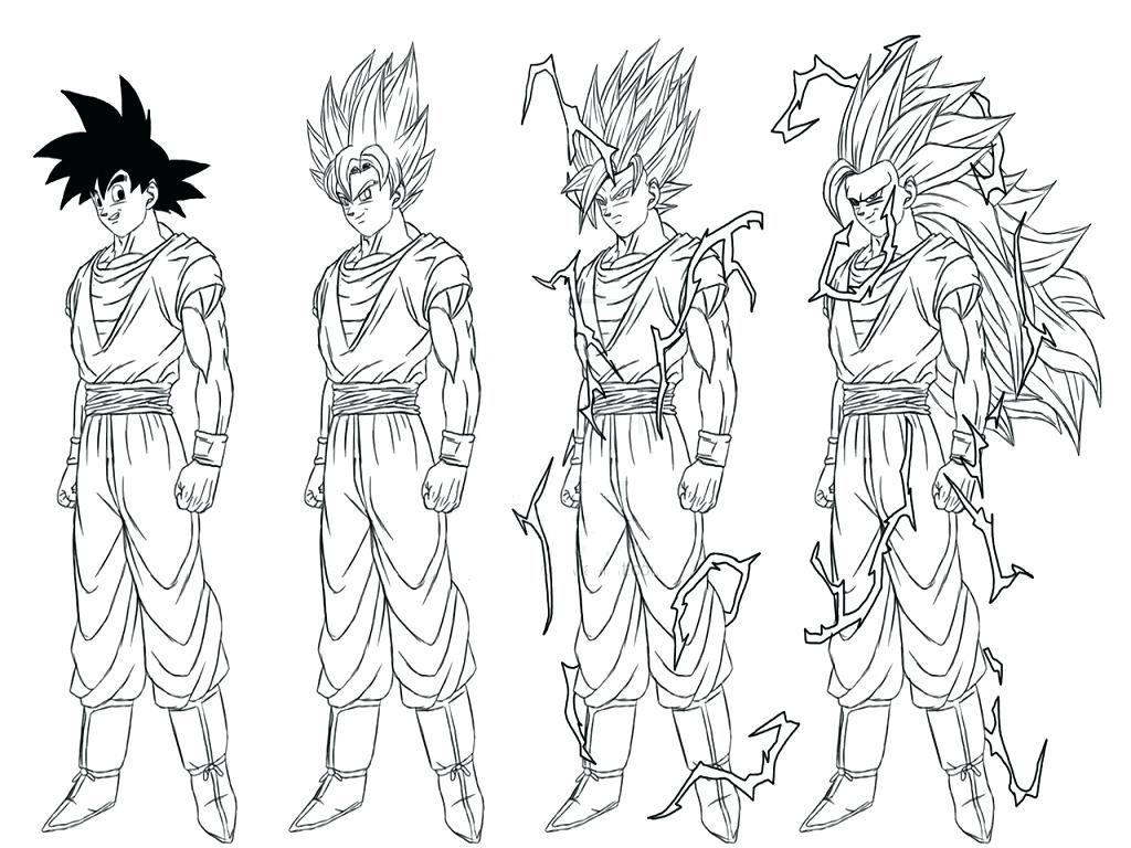 Dragon Ball Z Coloring Pages Gokudbz Goku Bardock Ideas In Super