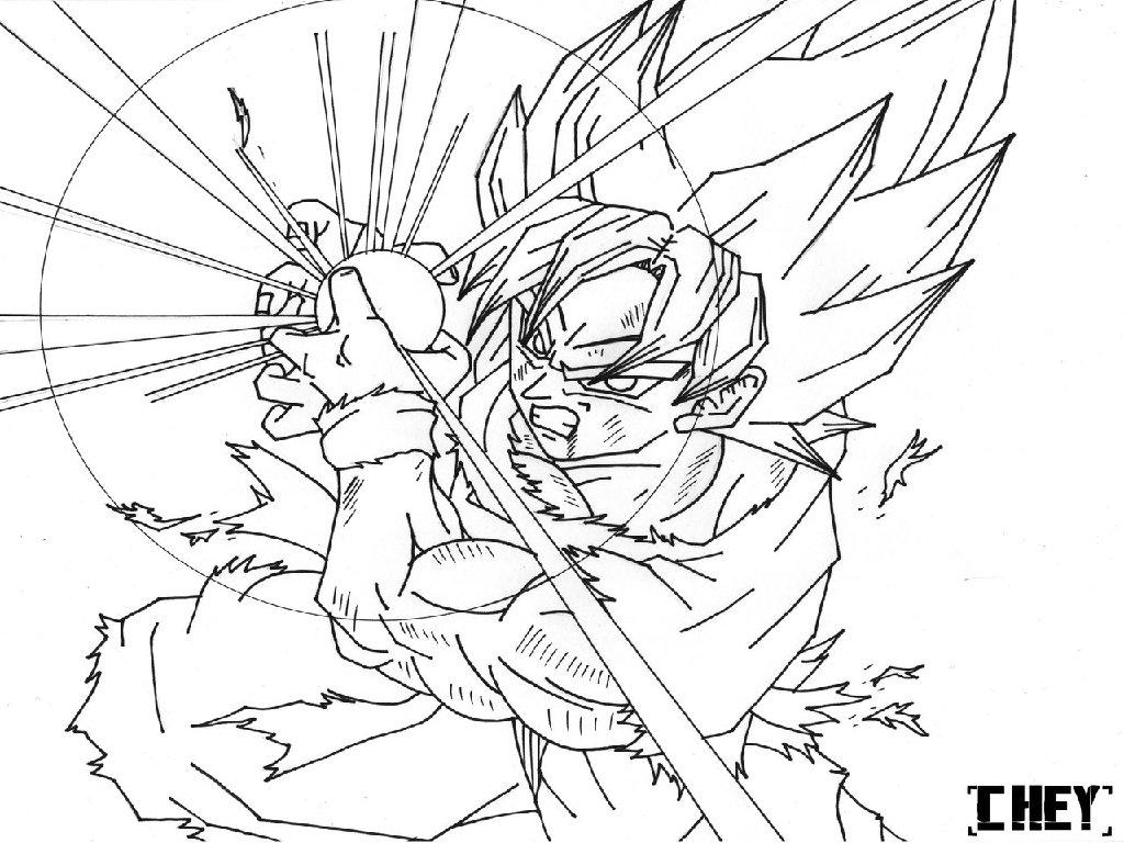 Dragon Ball Z Coloring Pages Super Saiyan 5 For Photos Of Goku For