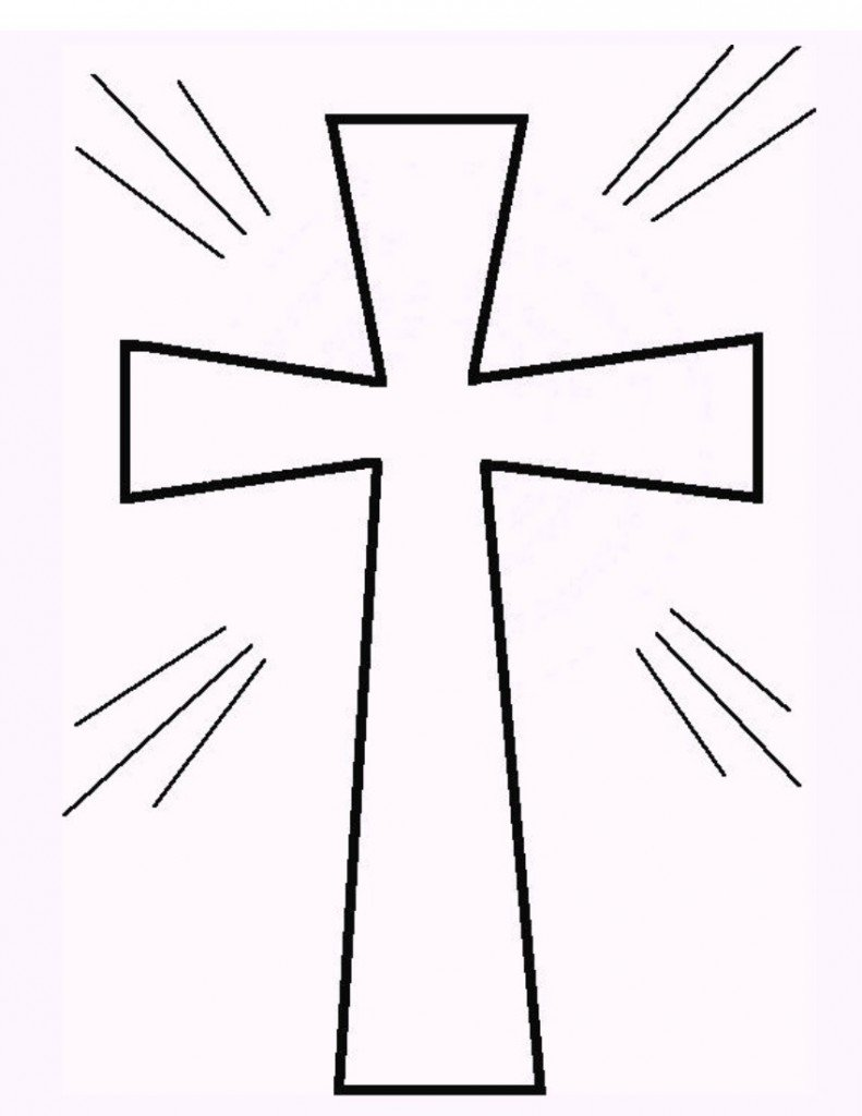 Draw Free Printable Cross Coloring Pages 29 In Coloring Pages