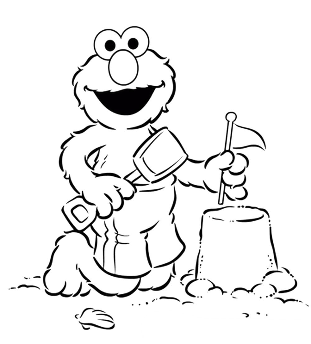 Elmo Coloring Pages Printable
