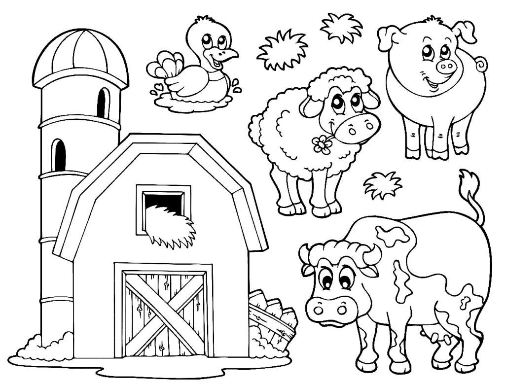 Educational Coloring Pages Kids And