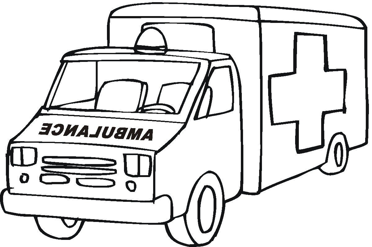 Elegant Ambulance Coloring Pages 68 With Additional Coloring Pages