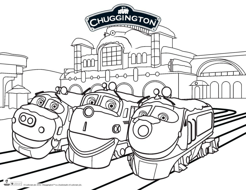 Elegant Chuggington Coloring Pages 26 For Coloring Books With