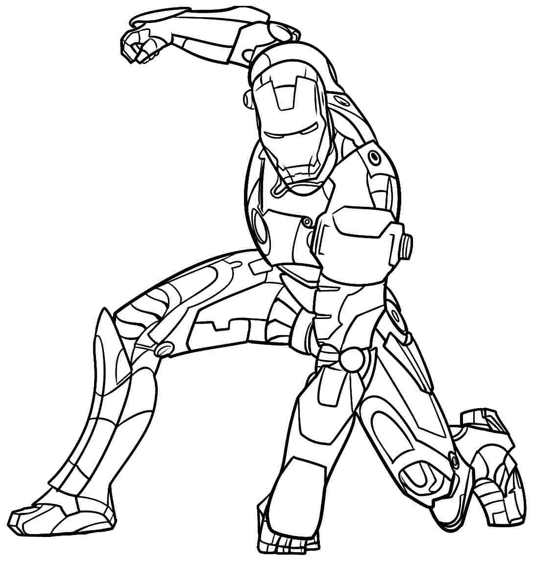 Elegant Ironman Coloring Pages 46 In Free Coloring Kids With